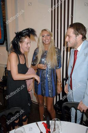 Poppy De Villeneuve, Petra Ecclestone and boyfriend