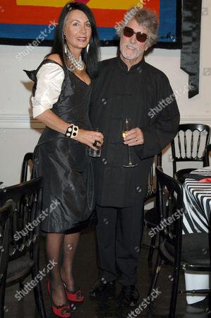 Justin De Villeneuve and Sue Timney