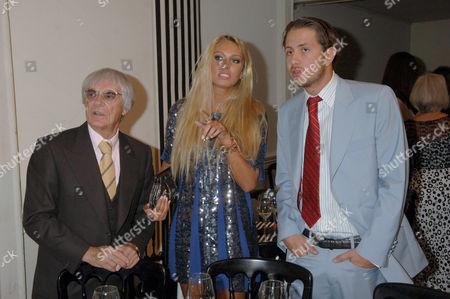 Bernie Ecclestone, Petra Ecclestone and boyfriend