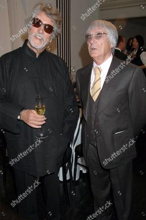 Justin De Villeneuve and Bernie Ecclestone
