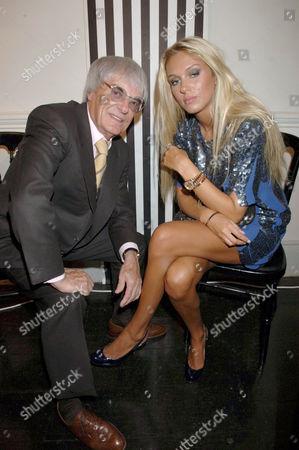 Bernie and Petra Ecclestone