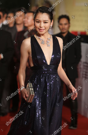 Vivian Hsu Taiwanese actress Vivian Hsu poses on the red carpet at the 48th Golden Horse Awards, in Hsinchu, northern Taiwan. Hsu is a guest at this year's Golden Horse Awards, one of the Chinese-language film industry's biggest annual events
