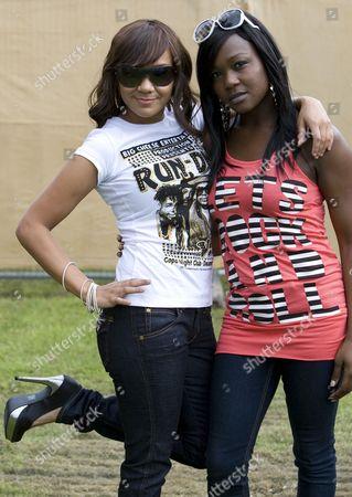Stock Photo of Booty Luv - Cherise Roberts and Nadia Shepherd