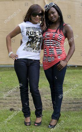 Stock Image of Booty Luv - Cherise Roberts and Nadia Shepherd