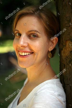 Editorial photo of Pamela Druckerman, London, Britain - 10 Aug 2007