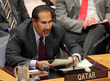 Sheikh Hamad bin Jassim bin Jaber bin Muhammed Al Thani Sheikh Hamad Bin Jassem Bin Jabr Al Thani, prime minister of Qatar, speaks during a Security Council meeting about Syria at United Nations headquarters . Syrian troops crushed pockets of rebel soldiers Tuesday on the outskirts of Damascus, fueling some of the bloodiest fighting of the 10-month-old uprising, as Western diplomats tried to overcome Russia's rejection of a draft U.N. resolution demanding President Bashar Assad halt the violence and yield power. The U.N. Security Council was meeting Tuesday to discuss the draft, backed by Western and Arab diplomats. But Russia, one of Assad's strongest backers, has signaled it would veto action against Damascus