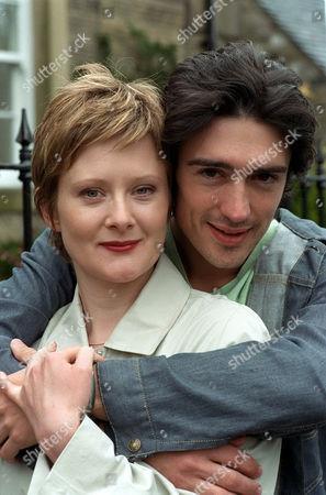 'Peak Practice' - 2001 Tony Preston (Adam Croasdell) and girlfriend Abbey (Lucy Robinson)
