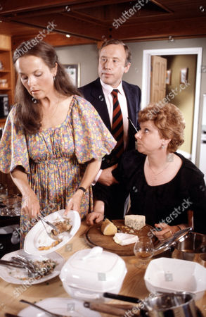 Carol MacReady (right) with Sheila Gish and Colin Farrell in 'Tales Of The Unexpected' - 1982 'A Harmless Vanity'