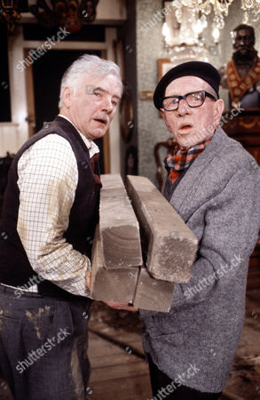 Fulton Mackay (left) and Joe Gladwin in 'Tales Of The Unexpected' - 1982 'The Moles'
