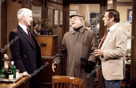 Fulton Mackay ,Bill Owen and Harry H.Corbett in 'Tales Of The Unexpected' - 1982 'The Moles''