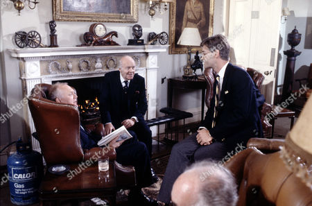 Joss Ackland ,John Horsley and Rupert Frazer in 'Tales Of The Unexpected' - 1988 'The Colonel's Lady'