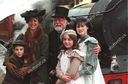 'The Railway Children' - 2000 Jack Blumenau as Peter, Jenny Agutter as Mother, Richard Attenborough as The Old Gentleman, Clare Thomas as Phyllis and Jemima Rooper as Bobbie.