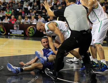 Editorial image of Argentina FIBA Americas Basketball, Mar del Plata, Argentina