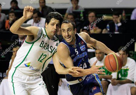 Editorial picture of Argentina FIBA Americas Basketball, Mar del Plata, Argentina