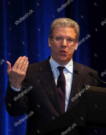Stock Picture of Tom Albanese Rio Tinto CEO Tom Albanese addresses the Commonwealth Business Forum in Perth, Australia
