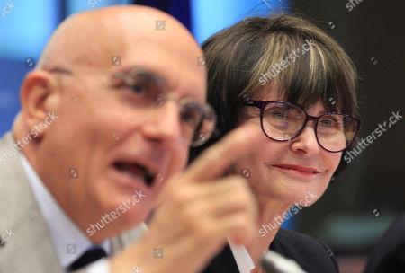 Editorial photo of Belgium EU Switzerland, Brussels, Belgium