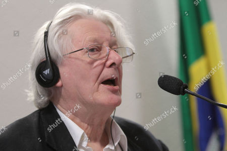 Andrew Jennings British author Andrew Jennings talks about corruption allegations involving FIFA and the Brazilian Football Confederation (CBF) during a meeting by Brazil's federal senate sports commission in Brasilia, Brazil