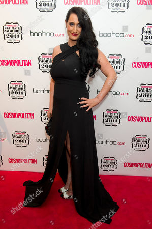 Lauren Socha Lauren Socha arrives for the Cosmopolitan Ultimate Women of the Year Awards at a central London venue