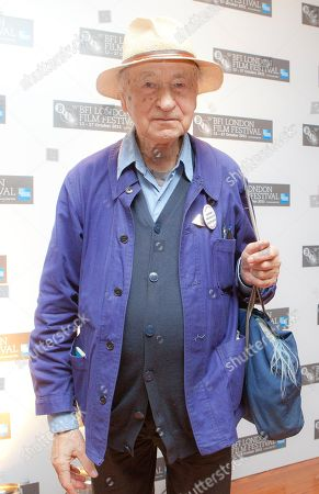 Jonas Mekas Lithuanian Director Jonas Mekas arrives for the official BFI London Film Festival screening of Sleepless Nights Stories, at a central London Cinema