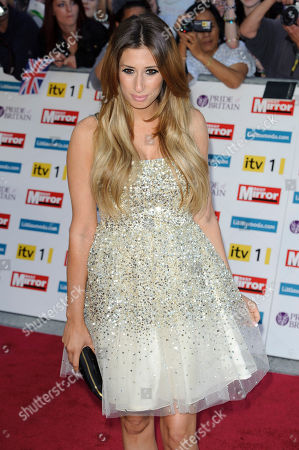 Stacey Soloman Stacey Soloman arrives for the Pride of Britain Awards at a central London venue