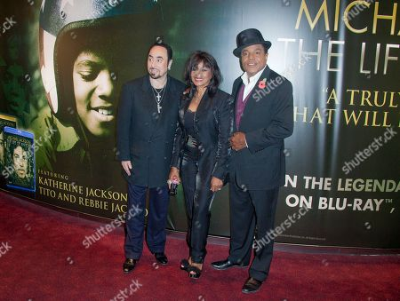 David Gest, Rebbie Jackson, Tito Jackson Producer David Gest, left, Rebbie and Tito Jackson, right, arrive for the European Premiere of Michael Jackson: The Life Of An Icon, at a central London cinema