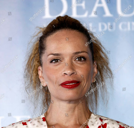 """Victoria Mahoney U.S Director Victoria Mahoney poses during a photocall for her film"""" Yelling to the Sky"""", at the 37th American Film Festival in Deauville, Normandy, France"""
