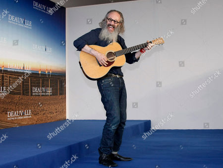 "U.S Director and musician Tony Kaye poses during a photo call for his film "" Detachment"" at the 37th American Film Festival in Deauville, Normandy, France"