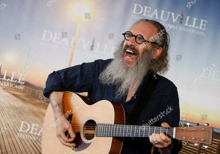 "U.S Director and musician Tony Kaye poses during a photocall for his film "" Detachment"" at the 37th American Film Festival in Deauville, Normandy, France"