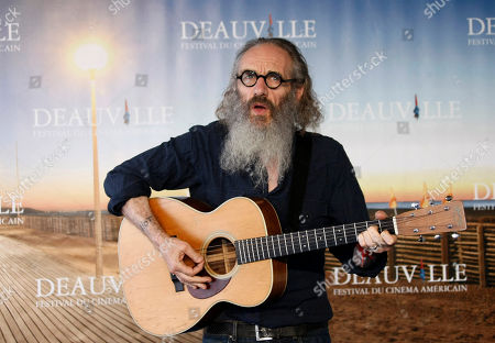 "Tony Kaye U.S director and musician Tony Kaye poses during a photocall for his film ""Detachment"" at the 37th American Film Festival in Deauville, Normandy, France"