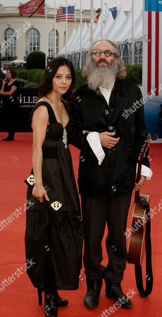 "Tony Kaye U.S Director Tony Kaye arrives for the screening of ""The Artist"" at the 37th American Film Festival in Deauville, Normandy, France"