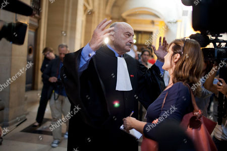 Editorial picture of France Chirac Trial, Paris, France