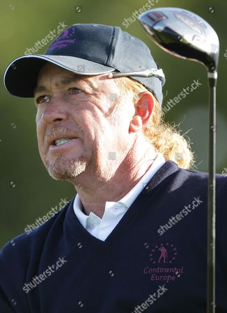 Miguel Angel Jimenez Miguel Angel Jimenez of Spain reacts at the Vivendi Seve Trophy at Saint Nom La Breteche, west of Paris, Sunday, Sept.18, 2011. Britain & Ireland held off a strong fightback from Continental Europe in Sunday's singles to retain the Vivendi Seve Trophy 15 1/2 to 12 1/2. Spanish golf great Seve Ballesteros created the event, a biennial competition, to help Europeans get more match-play experience outside the Ryder Cup