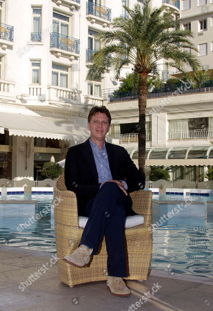 Tim Kring American screenwriter and television producer Tim Kring poses during the 27th MIPCOM (International Film and Programme Market for Tv, Video,Cable and Satellite) in Cannes, southeastern France
