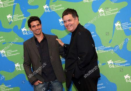 Liron Levo and director Amos Gitai
