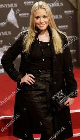 Lara-Isabelle Rentinck arrives for the Germany premiere of the movie 'Anonymus' in Berlin, Germany