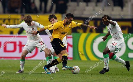 Editorial image of Greece Soccer Europa League, Athens, Greece