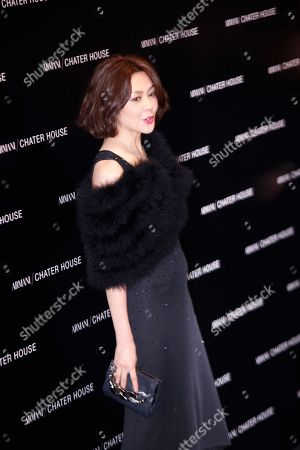 Rosamund Kwan Hong Kong actress Rosamund Kwan poses during the opening ceremony of the Giorgio Armani's newly revamped store in Hong Kong