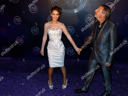 CoCo Lee, Bruce Rockowitz Hong Kong's pop diva CoCo Lee, left, and her husband and President of Li & Fung Ltd, Bruce Rockowitz during their wedding banquet at Shaw Studio in Hong Kong, China, . Singer Coco Lee married business tycoon Rockowitz on Thursday, Oct. 27