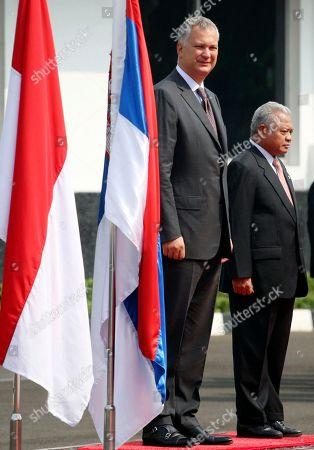 Editorial image of Indonesia Serbia, Jakarta, Indonesia