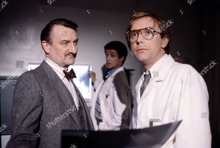 Peter Jeffrey ,Tony Osoba and Peter Machin  in 'Tales Of The Unexpected' - 1982 Episode:'The Skeleton Key'