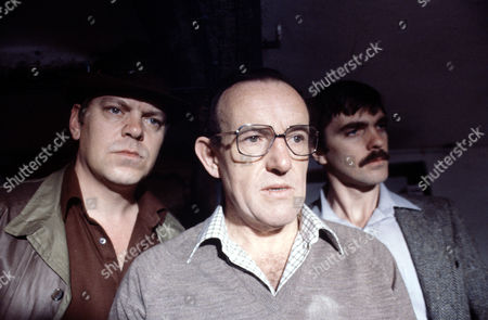 Warren Clarke ,Colin Blakely and Keith Drinkel in 'Tales Of The Unexpected' - 1981 Episode:'Never Speak Ill Of The Dead'