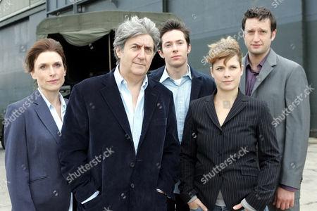 'Donovan' - Left to Right:Evie Struass(Amelia Bullmore) Joe Donovan (Tom Conti) Seth Donovan (Ryan Cartwright) Myrna Rovic (Katie Blake) Nick Pushko (Dan Fredenburgh), 2005