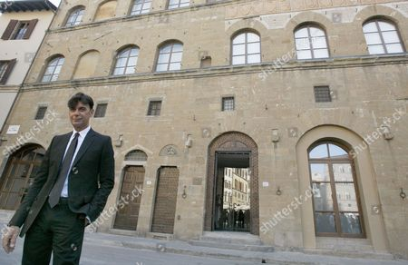 Patrizio Di Marco Gucci CEO Patrizio Di Marco poses for the photographers outside the Gucci museum in Florence, Italy, . Gucci is celebrating its 90th birthday by inaugurating a museum in its Florentine birthplace. Gucci treasures have been collected in a Medieval palazzo on Piazza della Signoria, which opens to the public Wednesday. Among the items on display are the iconic bamboo handle bag and horse bit loafers that helped the brand become an international must among the 1950s jet set. Gucci's more recent red carpet gowns also can be admired