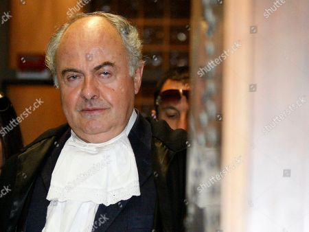 Stock Picture of Giuliano Mignini Prosecutor Giuliano Mignini arrives to the Perugia court, Italy, . Amanda Knox tearfully told an Italian appeals court Monday she did not kill her British roommate, pleading for the jury to free her so she can return to the United States after four years behind bars. Moments later, the court began deliberations. Knox frequently paused for breath and fought back tears as she spoke in Italian to the eight members of the jury in a packed courtroom, but managed to maintain her composure during the 10-minute address