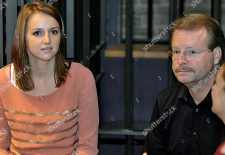 """Deanna Knox, Curt Knox Deanna Knox, left, and Curt Knox, the sister and father of Amanda Knox, the American student convicted of killing her roommate, are seen at a court in Perugia, Italy, . A defense lawyer has told a court to see Amanda Knox, the American student convicted of killing her roommate, not as the """"femme fatale"""" her accusers describe but rather as a loving young woman"""