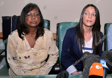 "Arline Kercher, Stephanie Kercher Arline Kercher, left, mother of slain British student Meredith Kercher is flanked by her daughter Stephanie, as they meet the media in Perugia, Italy, . The sister of slain British student Meredith Kercher has urged the court to weigh the evidence against Amanda Knox and not pay attention to the ""media hype"" surrounding the high-profile case. Stephanie Kercher spoke to reporters as the eight-member jury on Monday deliberated the fate of Knox and co-defendant Raffaele Sollecito, who are appealing their 2009 murder convictions. Stephanie Kercher, her mother and her brother are in Perugia for the verdict, expected later Monday"