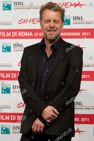 "Norwegian director Pal Sletaune poses during the photo call of the movie ""Babycall"", at the 6th edition of the Rome International Film Festival in Rome"
