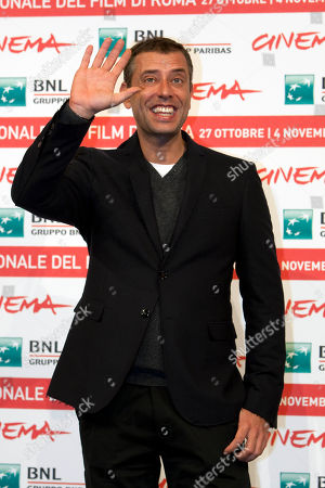 Ivan Cotroneo Italian novelist and film director Ivan Cotroneo poses during the photo call for the movie La kryptonite nella borsa at the Rome International Film Festival in Rome