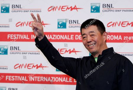 Gu Changwei Chinese director Gu Changwei poses during a photo call for the movie Love for Life (Zuì ài) at the Rome International Film Festival in Rome