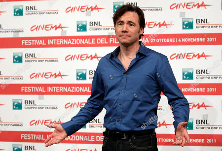 """Michael Herbig German actor Michael Herbig poses during a photocall to present the movie """"Hotel Lux"""" at the 6th edition of the Rome International Film Festival in Rome"""